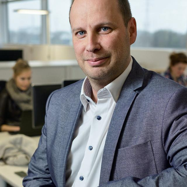 Sven Hubin, Head of Recruitement & Employer Branding bij Lidl
