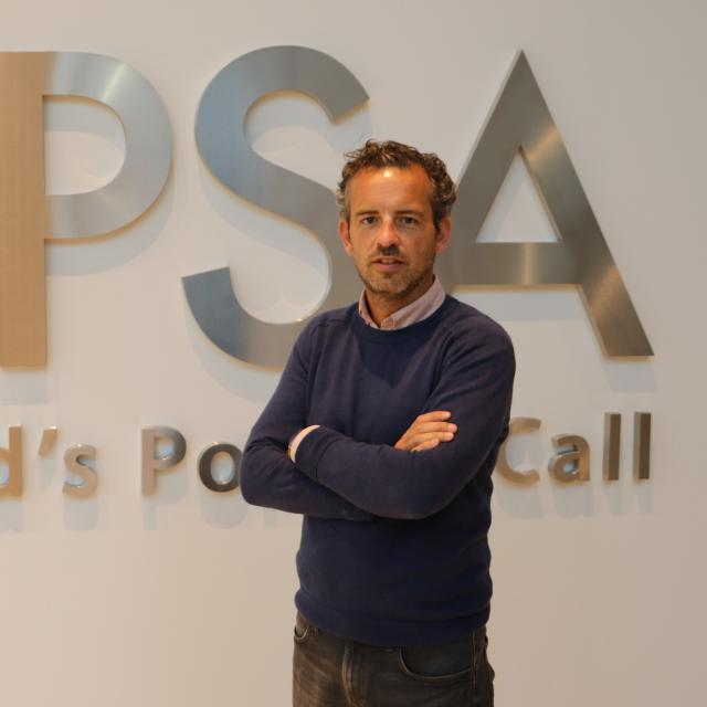 Jan Diels, Senior HR Officer bij PSA Antwerp